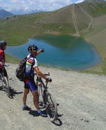 mountainbike activiteiten bij gite la bergerie